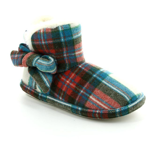 Begg Exclusive Slippers - Tartan - 621309 PITLOCHRY