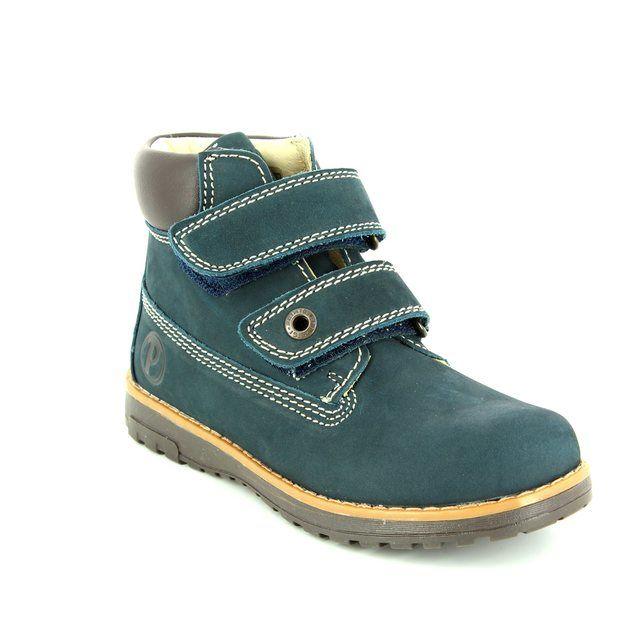 Primigi Aspy 1 6042000-70 Navy nubuck boots