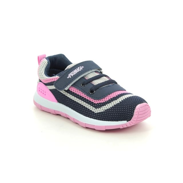 Primigi Trainers - Navy Pink - 5446100/76 BABY RUN GIRL