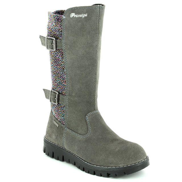 Primigi Boots - Grey suede - 8602100/00 BENNY GORE TEX