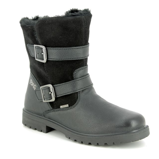 Primigi Boots - Black leather - 23825/00 CHRIS GORE-TEX