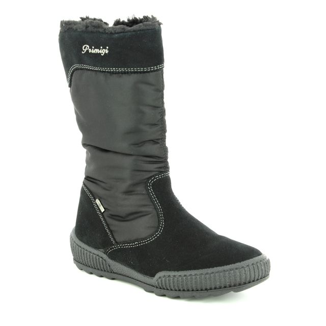 Primigi Boots - Black suede - 23847/22 CLIO GORE-TEX