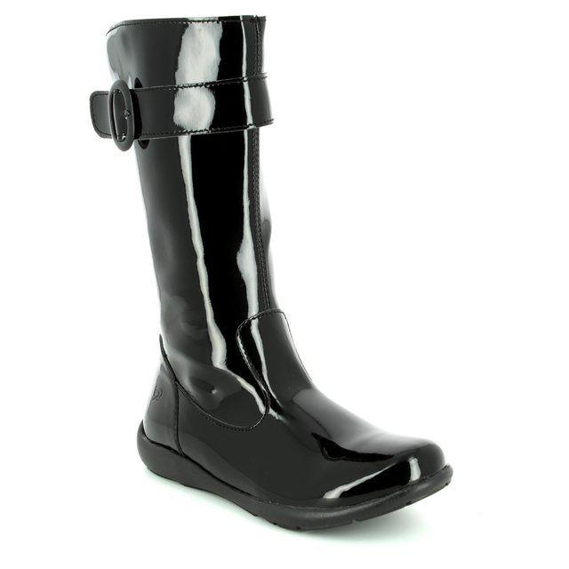 Primigi Boots - Black patent - 8151000/34 FLORA BOW