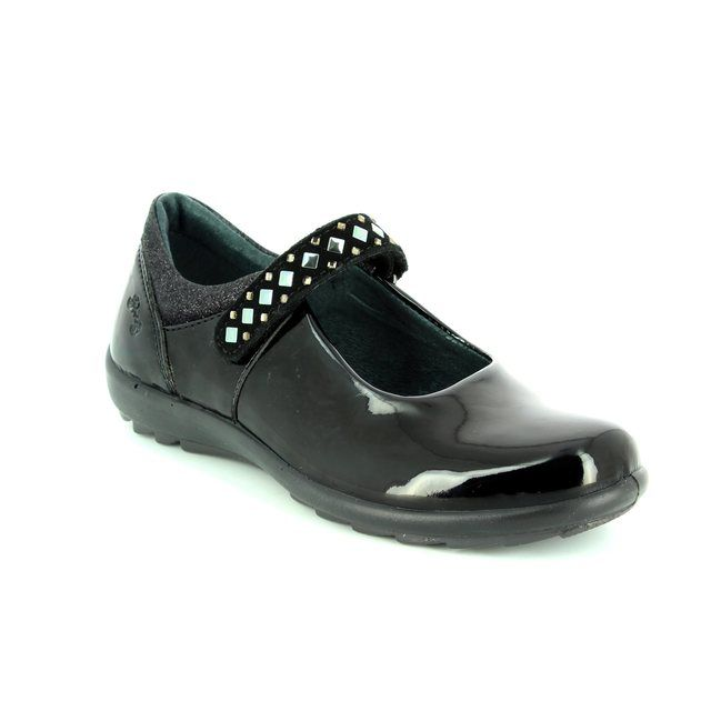 Primigi Marzia 6566300-33 Black patent everyday shoes