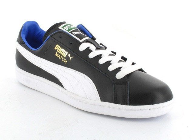 Puma Match Solid 355633-03 Black trainers
