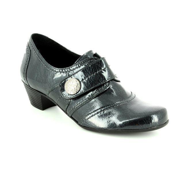Pumalynn 1442714-1234 Black patent shoe-boots