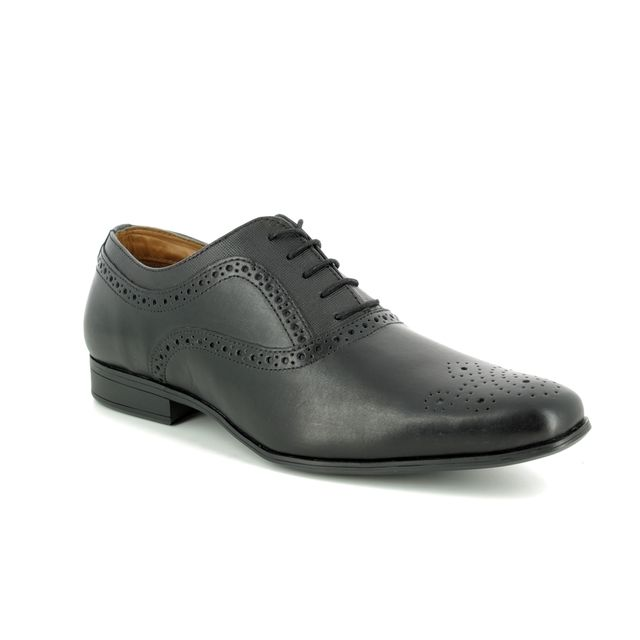 Red Tape Formal Shoes - Black - 9102/30 BRETBY