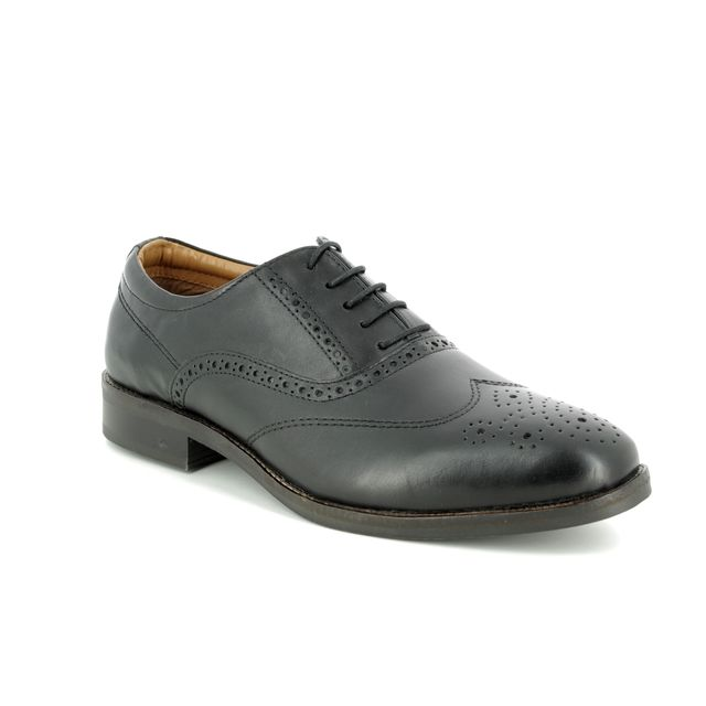 Red Tape Carlton 9103-30 Black Brogues