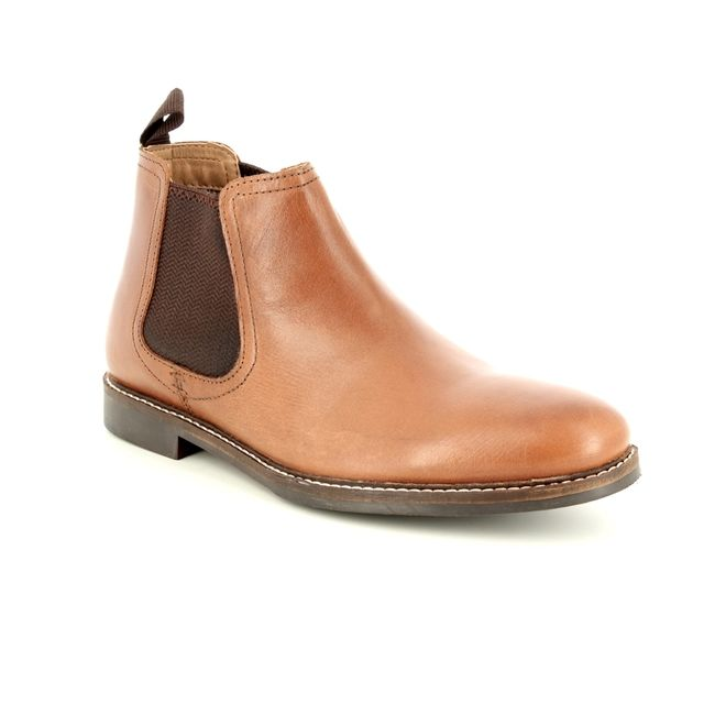 Red Tape Boots - Tan - 7201/11 MORLEY