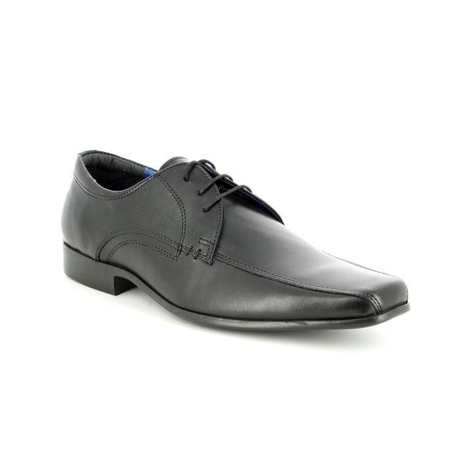 Red Tape Formal Shoes - Black - 7205/30 MUNSTER