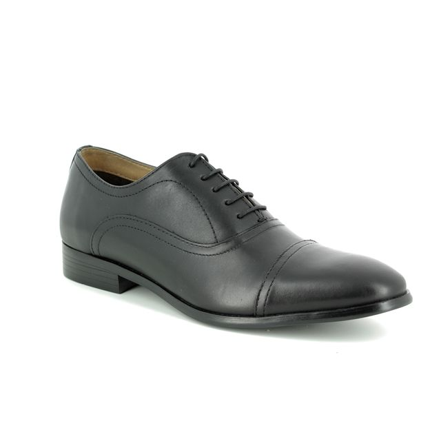 Red Tape Stowe 9107-30 Black formal shoes