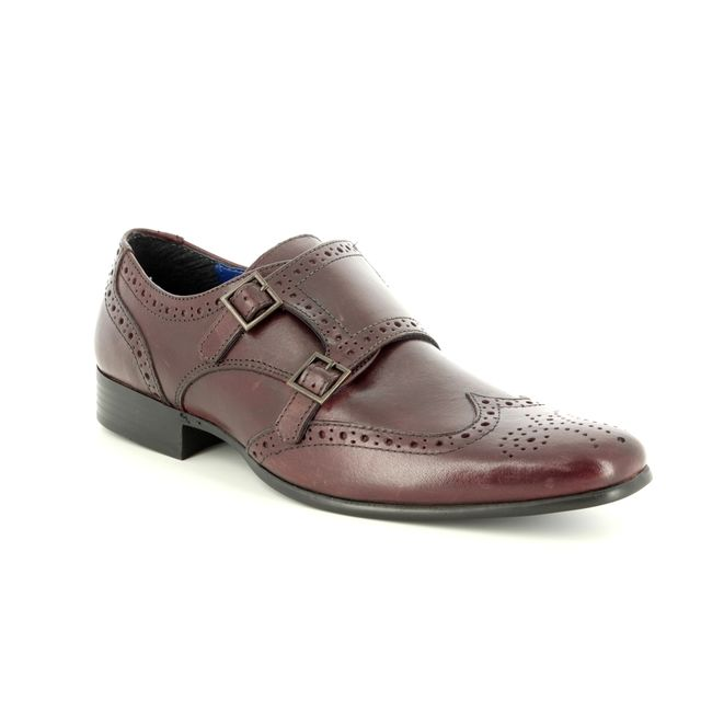 Red Tape Tempo 7202-11 Dark Red fashion shoes