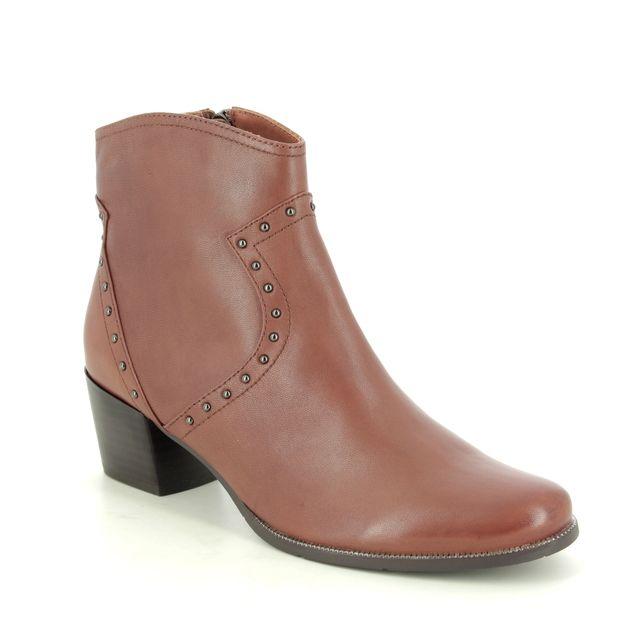 Regarde le Ciel Ankle Boots - Tan Leather - 2083/3902 ISABEL 83