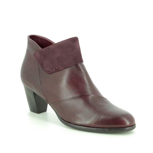 Regarde le Ciel Ankle Boots - Wine leather - 2705/81 SONIA  37