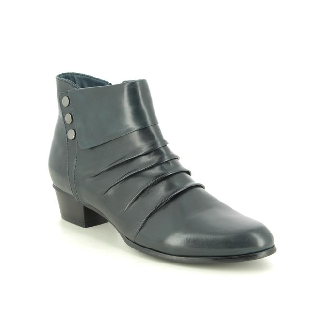 Regarde le Ciel Ankle Boots - Navy Leather - 0278/150 STEFANY 278