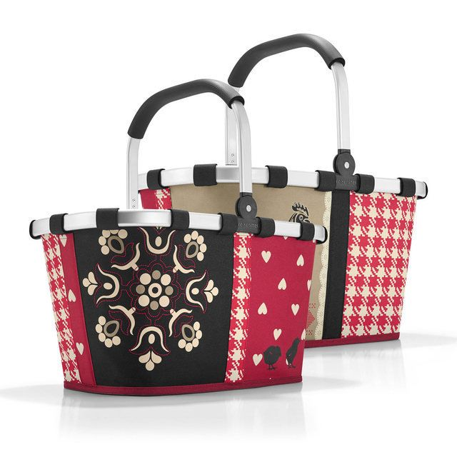 Reisenthel Bags - Red multi - 1705/3049 BK 3049 BASKET