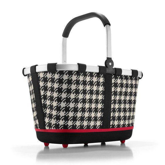 Reisenthel Bl 7028 Basket2 1706-7028 Black white bags