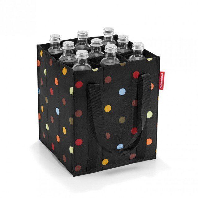 Reisenthel Bags - Black multi - 1518/7009 ZJ 7009 BOTTLE BAG