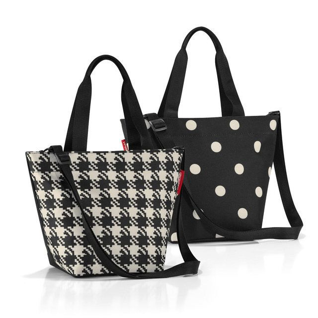 Reisenthel Bags - Black white - 1714/7028 ZR 7028 SHOPPER