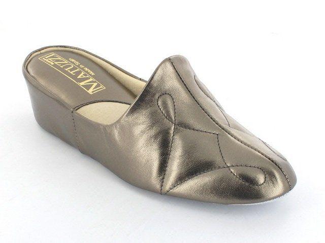 Relax Slippers Plain 7312-04 7312-03 Pewter slippers