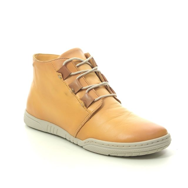 Relaxshoe Fashion Ankle Boots - Yellow - 627011/08 ANYA
