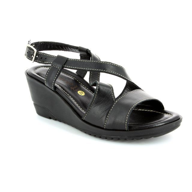 Relaxshoe Betwix 044017-30 Black sandals