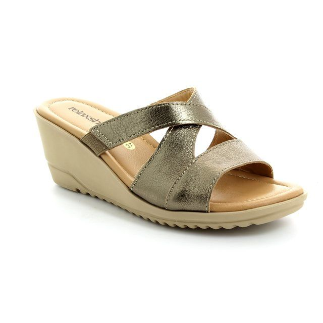 Relaxshoe Bewitched 044018-60 Pewter sandals