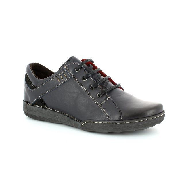 Relaxshoe Lacing Shoes - Navy - CALYPSO 21512/47