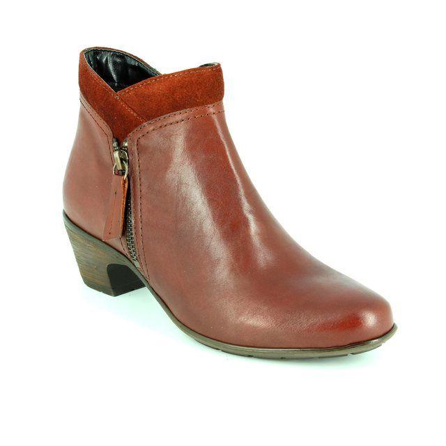 Relaxshoe Limapa 62 047719-20 Tan ankle boots