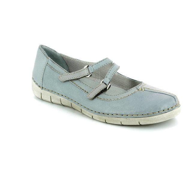 Relaxshoe Comfort Shoes - Light Grey - 200105/00 NAOMI