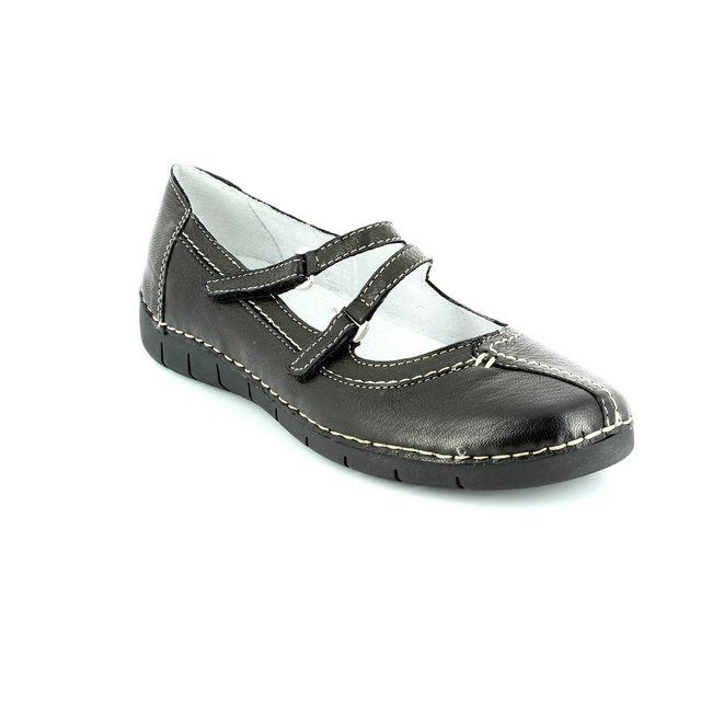 Relaxshoe Naomi 200105-30 Black comfort shoes