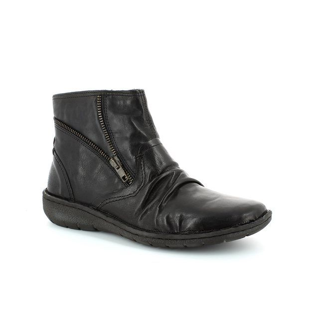 Relaxshoe Suffle 37517-30 Black ankle boots