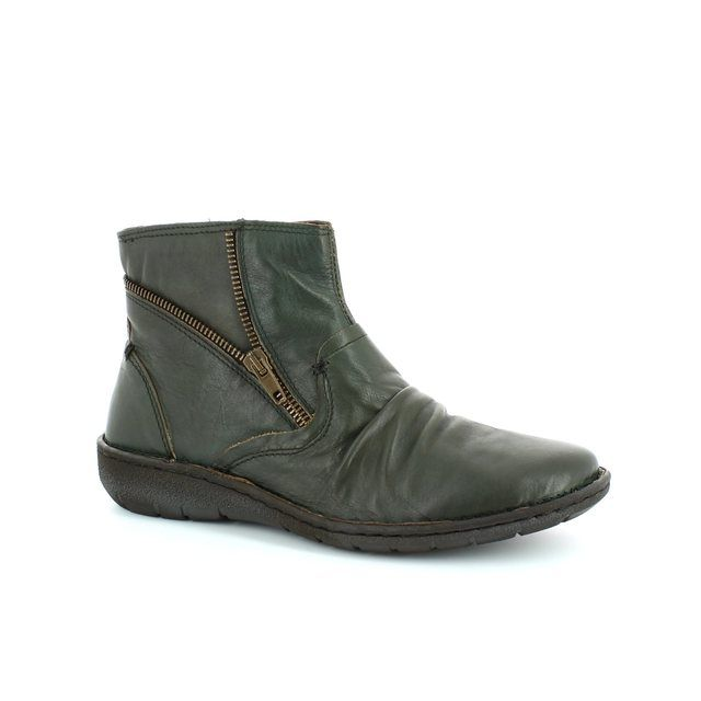 Relaxshoe Suffle 37517-90 Green ankle boots
