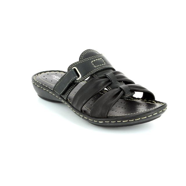 Relaxshoe Tollvel 097110-30 Black sandals