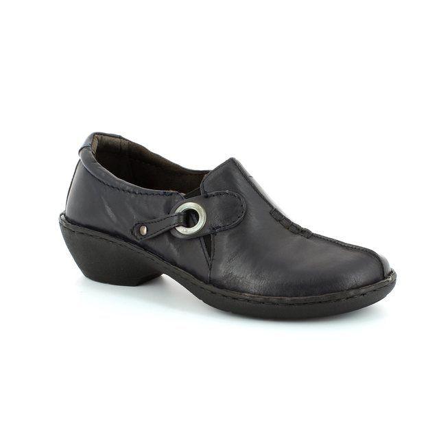 Relaxshoe Under 29002-70 Navy comfort shoes