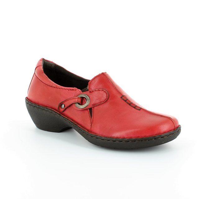 Relaxshoe Under 29002-80 Wine comfort shoes