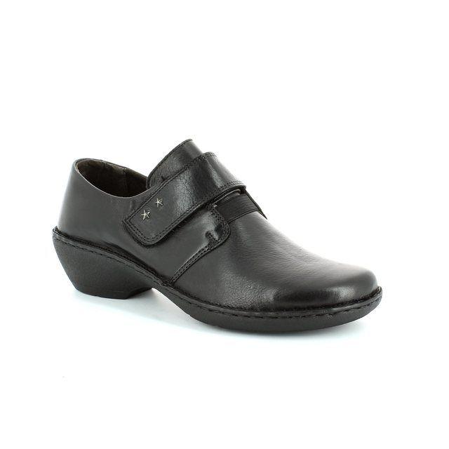 Relaxshoe Undervel 29056-30 Black comfort shoes