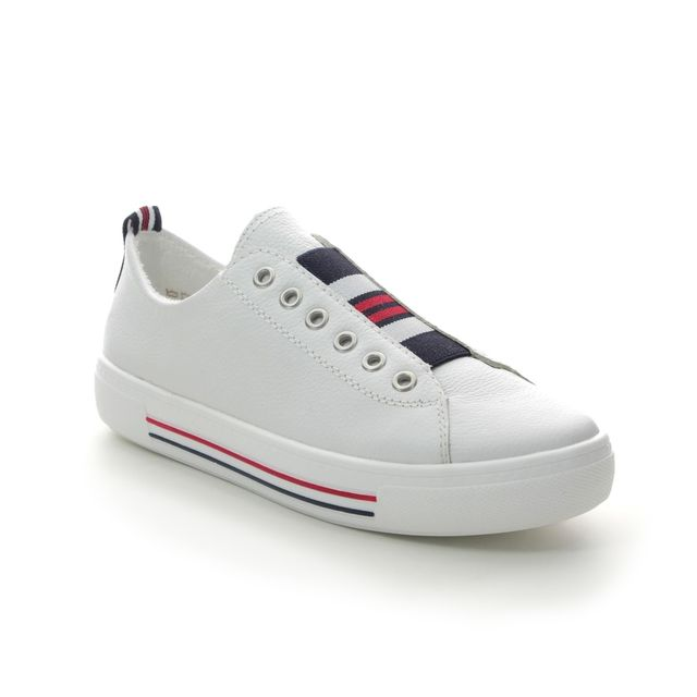 Remonte Trainers - WHITE LEATHER - D0905-80 ALTOMMY