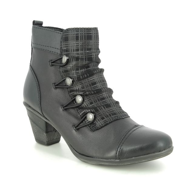 Remonte Ankle Boots - Black leather - D8792-04 ANNIBUT