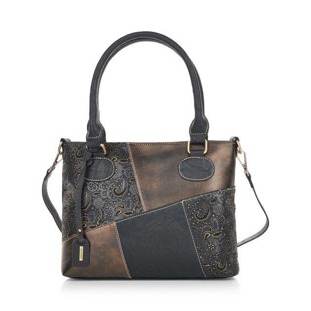 Remonte Annimid Cross Q0440-03 Black matching handbag