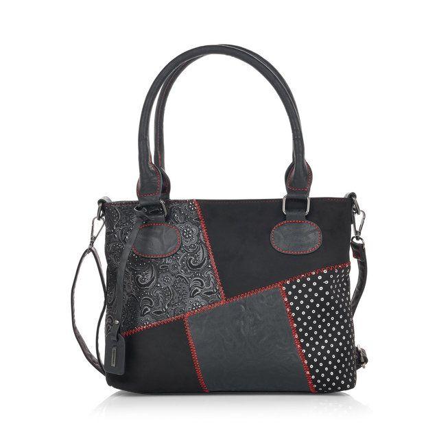 Remonte Matching Handbag - Black  - Q0440-02 ANNIZIGITEL BA