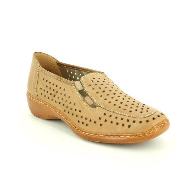 Remonte Comfort Shoes - Taupe - D1635-64 DORLAS