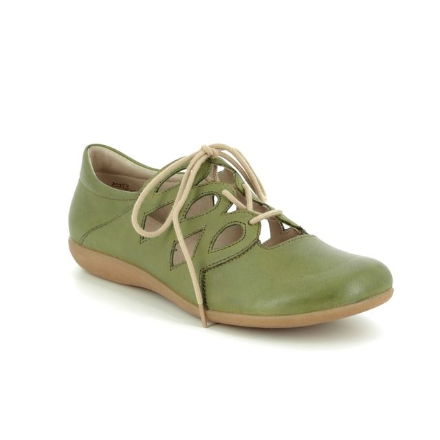 Remonte Lacing Shoes - Green - R3801-54 FIONA LACE