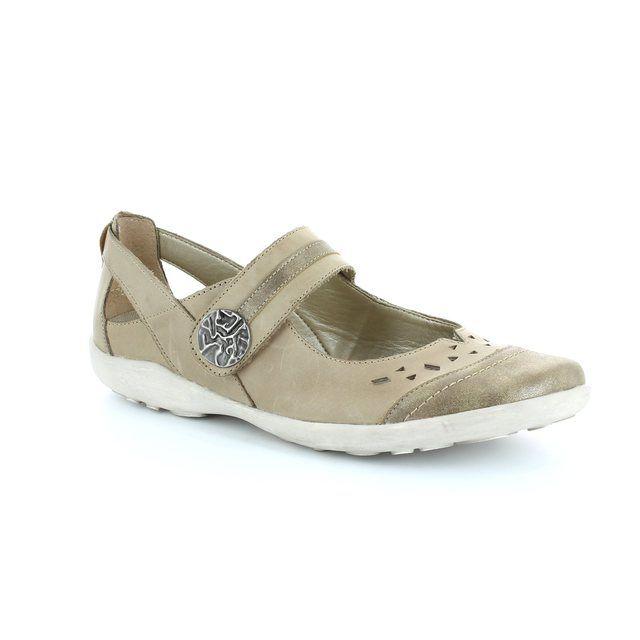 Remonte Livaso 41 R1704-64 Taupe multi lacing shoes