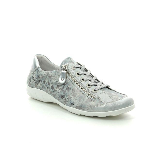 Remonte Lacing Shoes - Silver - R3435-42 LIVSPACE