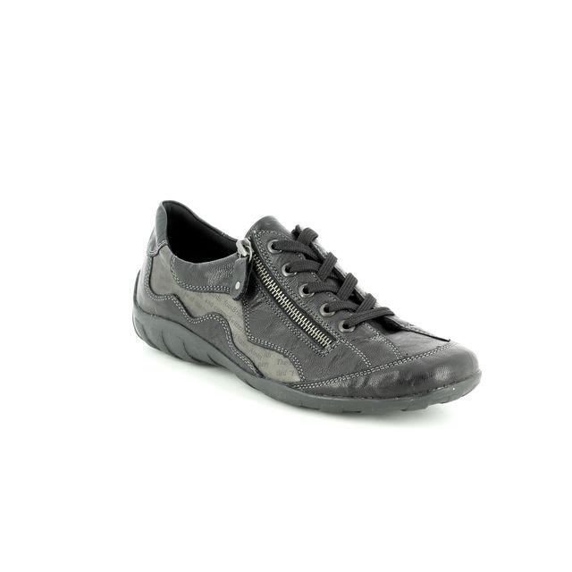 Remonte Lacing Shoes - Black multi - R3416-02 LIVTEXT