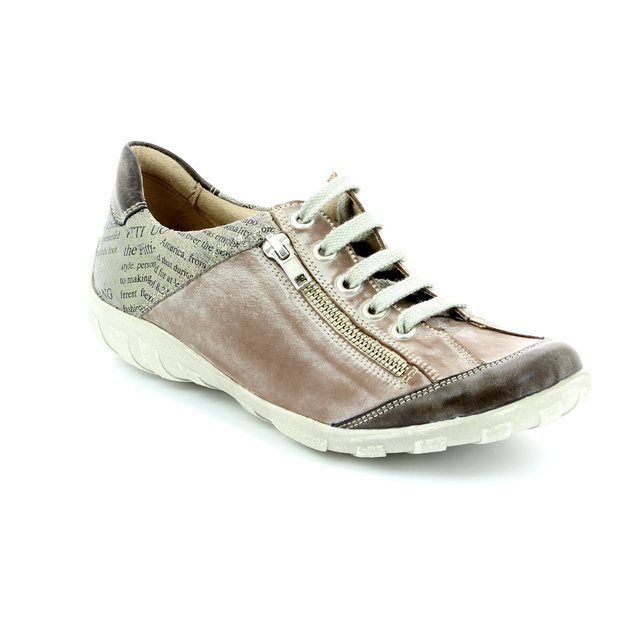 Remonte Livzin R3417-25 Taupe multi lacing shoes
