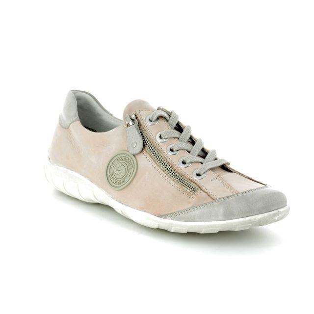 Remonte Lacing Shoes - Pink - R3443-31 LIVZIP 81