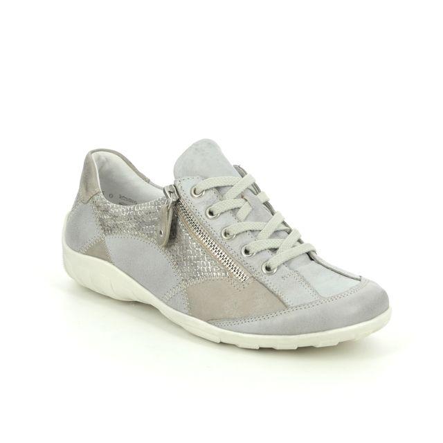 Remonte Livzipa 01 R3405-90 Light Grey lacing shoes
