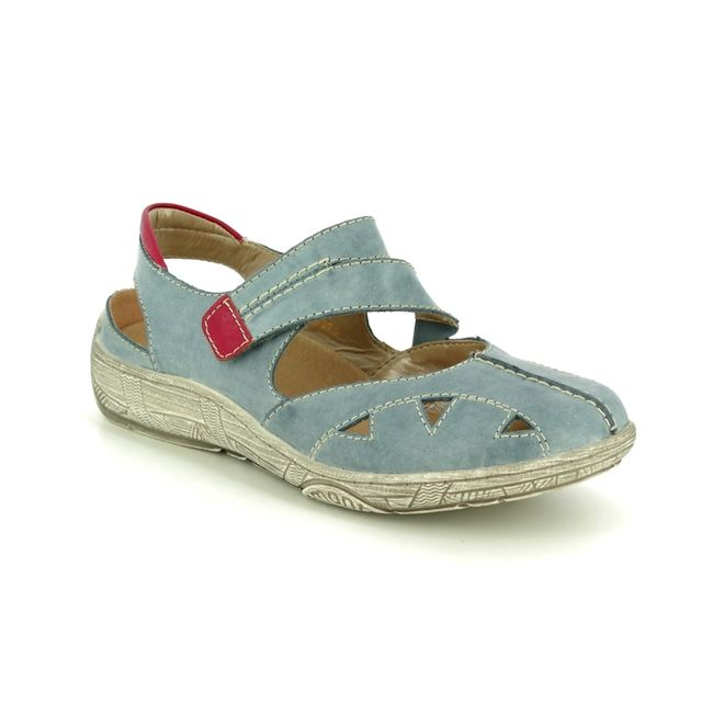 Remonte Mary Jane Shoes - Denim leather - D3814-14 LUVBAR